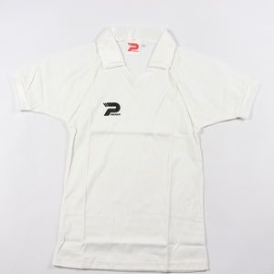 80s New Patrick Youth Large Soccer Jersey White